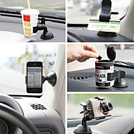 Universal Car Windshield Mount Stand Holder for Phones and GPS(Assorted Colors)