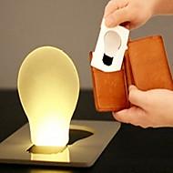 10pcs 1W Ultra-thin LED Card Light Portable Small Night Light(Random Color)