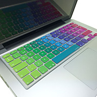 "Coosbo® Swedish Colorful Silicone Keyboard Cover Skin EU Layout for  13""/15""/17"" Mac Macbook Air Pro / Retina /Imac G6"