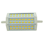 R7S 10W 48 LED 910lm 2800-6500K  118mm 5730 SMD Warm White and Cold White Bulb Lamps Floodlight Spotlight AC 85-265V