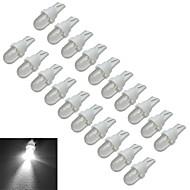 0.5W T10 Luz de Decoração 1 30-50lm lm Branco Frio DC 12 V 20 pçs