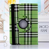 Scotland Grid Pattern PU Leather 360⁰ Cases/Smart Covers for iPad 2/iPad 3/ iPad 4 (Assorted Colors)