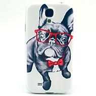 Varten Samsung Galaxy kotelo Kuvio Etui Takakuori Etui Koira TPU Samsung S4 Mini