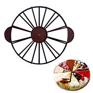10 en 12 stuks snijd taart taart stuk gelijk deel marker divider 27 * 27cm