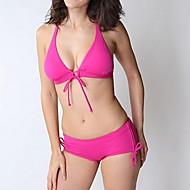 naisten muoti seksikäs kiinteä ranta kulumista kolmio bikinit asettaa uimahousut uimapuku biquini uimapuku