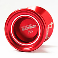 n fem profesjonelle aluminiumslegering yo-yo