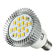 E14  6.5W  16 *SMD5630  460-500LM 6000-6500K Cool White Light LED Spot Bulb  (AC 220-240 V)