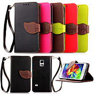High Quality Wallet Card Holder PU Leather Flip Case Cover for Samsung Galaxy S5 Mini/S4 Mini/S3 Mini(Assorted Colors)