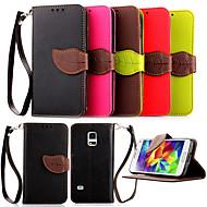 vysoce kvalitní držák peněženka karty PU kožené flip pouzdro obal pro Samsung Galaxy S5 mini / S4 mini / S3 Mini (různé barvy)