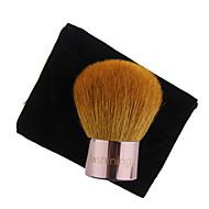 lashining profesionalna velika prahu kabuki četkica za lice ljepota šminka alata poklon jedna crna flanel