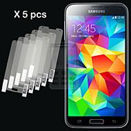 gym 5pcs hd skærm film til Samsung Galaxy s5 i9600
