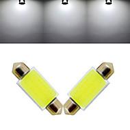 3W Luz de Decoração 12 COB 1000 lm Branco Frio DC 12 V 2 pçs