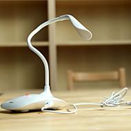 serie leche llevó proteger a la luz de la lámpara de mesa usb con sensores táctiles cambiar y ajuste de brillo