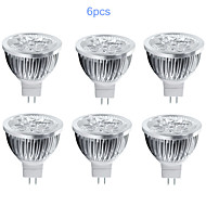 6pcs MORSEN® MR16 5W 350-400LM Light LED Spot Bulb(12V)