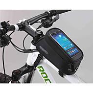Torba na Rower 1.8LTorba rowerowa na ramę / Torba na telefon komórkowy Wielofunkcyjne / Ekran dotykowy Torba rowerowaPVC / 600D polyester