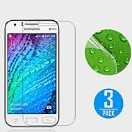 (3 stuks) high definition screen protector voor de Samsung Galaxy J1