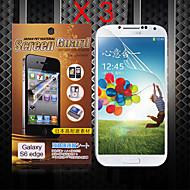 beschermende hd screen protector voor de Samsung Galaxy s6 rand (3 stuks)