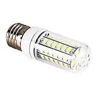 E26/E27 12W 56 SMD 5730 1200 LM Natural White T LED Corn Lights AC 220-240 V