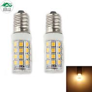 Zweihnder E14 3W 280LM 3000-3500K 28x2835 SMD Warm Light Corn Light (AC 220-240V,2Pcs)
