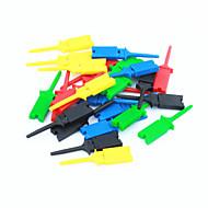 DIY pc test klipp / clamp set - flerfarget (5x 5pcs)