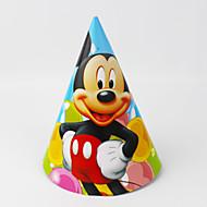 mickey 12pcs papier chapeau