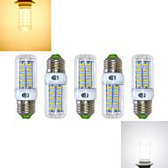 5 pcs Ding Yao E27 11W 36X SMD 5730 950-1000LM 2800-3500/6000-6500K Warm White/Cool White Corn Bulbs AC 220-240V