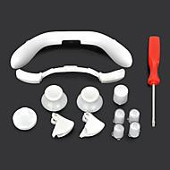 caps pulsante sostituzione set w / cacciavite per Xbox 360 Controller wireless