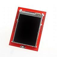 """bricolage 2.4 """"TFT LCD carte d'extension de bouclier de l'écran tactile pour Arduino Uno"""
