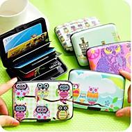 Műanyag - Cuki/Üzlet/Több funkciós - Véletlenszerűen kiválasztott szín - Bankkártyatartók -