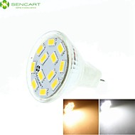 MR11 GZ4 GU4 G4 6.5W Warm / Cool White / Warm White 12 x5730SMD LED 450-550LM Light Led Bulb (AC/DC10-30V)
