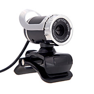 2015 nye usb 2.0 12 m hd kamera web cam 360 graders med mic clip-on for desktop skype datamaskin pc laptop