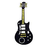 carino chitarra nera usb di stile 2.0 memoria flash pen memory stick pen drive 1gb