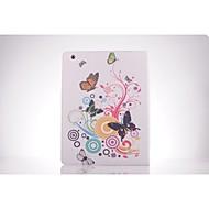 butterfly mønster PU lær full body TPU Veske med kortholder for iPad 2 / iPad 3 / ipad 4