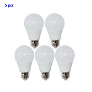 5 pcs yangming E26/E27 10 W 10 SMD 2835 800lm LM Warm White / Cool White Globe Bulbs AC 85-265 V
