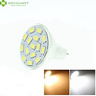 4 x MR11 GZ4 GU4 G4 7.5W Warm / Cool White / Warm White 15 x 5730SMD LED 550-650LM Light Led Bulb (AC/DC10-30V)