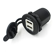 Dual Usb Car Socket 12V Charger Power Adapter