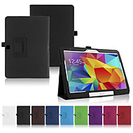 Mert Samsung Galaxy tok Állvánnyal / Flip Case Teljes védelem Case Egyszínű Műbőr Samsung Tab 4 10.1 / Tab Pro 10.1 / Tab A 9.7
