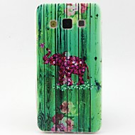Leaves Elephant Pattern TPU Material Phone Case for Samsung  Galaxy A3 A5
