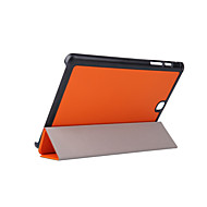 Mert Samsung Galaxy tok Állvánnyal / Flip / Origami Case Teljes védelem Case Egyszínű Műbőr Samsung Tab A 9.7