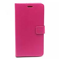 Varten Samsung Galaxy kotelo Lomapkko / Korttikotelo / Tuella / Flip Etui Kokonaan peittävä Etui Yksivärinen Tekonahka SamsungOn 7 / On 5