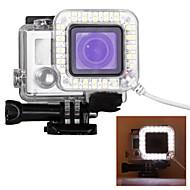 etui Spot Light LED LED Dla Gopro 5 Gopro 4 Silver Gopro 4 Gopro 4 Black Gopro 3 Gopro 3+ Gopro 3/2/1