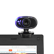2015 nye 360 ​​grader roterende 12m usb 2.0 hd webcam kamera web cam med innebygd mikrofon mini clip for pc laptop