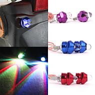 Merdia 0.5W 45LM SMD LED License Plate Lamp/ Decorative Light(2PCS/12V,Red/Blue/Purple)