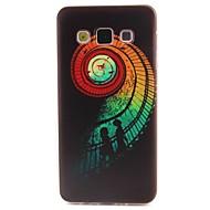Swirl Pattern TPU Material Phone Case for Samsung  Galaxy A3 A5