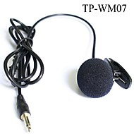 "Top Quality Cardioid Lapel Tie Clip-on Lavalier Condenser Microphone 1/8""(3.5mm) Plug"
