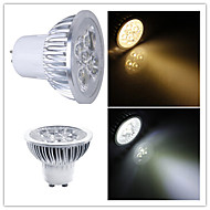 5W GU10 / GU5.3(MR16) LED-spotlights MR16 Högeffekts-LED 350-400 lm Varmvit / Kallvit Dimbar AC 220-240 / AC 110-130 V 1 st