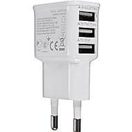 universal plug ue 3-port Carregador usb