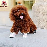 猫用品 / 犬用品 シューズ、ブーツ 結婚式 / コスプレ レッド / ブルー / ピンク / イエロー 春/秋 PUレザー犬 靴