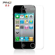 pinli 9h 2.5D 0.3mm ekte anti blått lys øyne bryr herdet glass skjermbeskytter for iPhone 4 / 4S