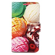 Ice Cream Litchi Grain PU Leather Case for Samsung Galaxy Grand Prime G530H/ Galaxy Alpha G850F